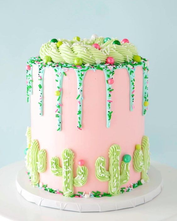 sprinkle drip cakes - creative monsoon