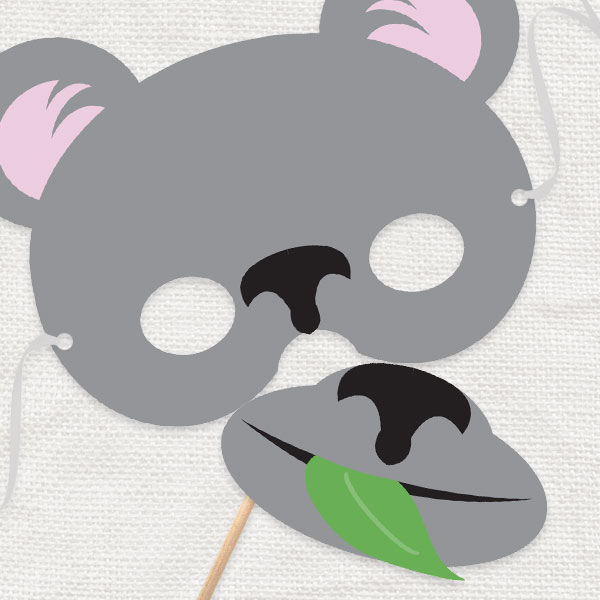This is a photo of Printable Bear Mask for honey bear